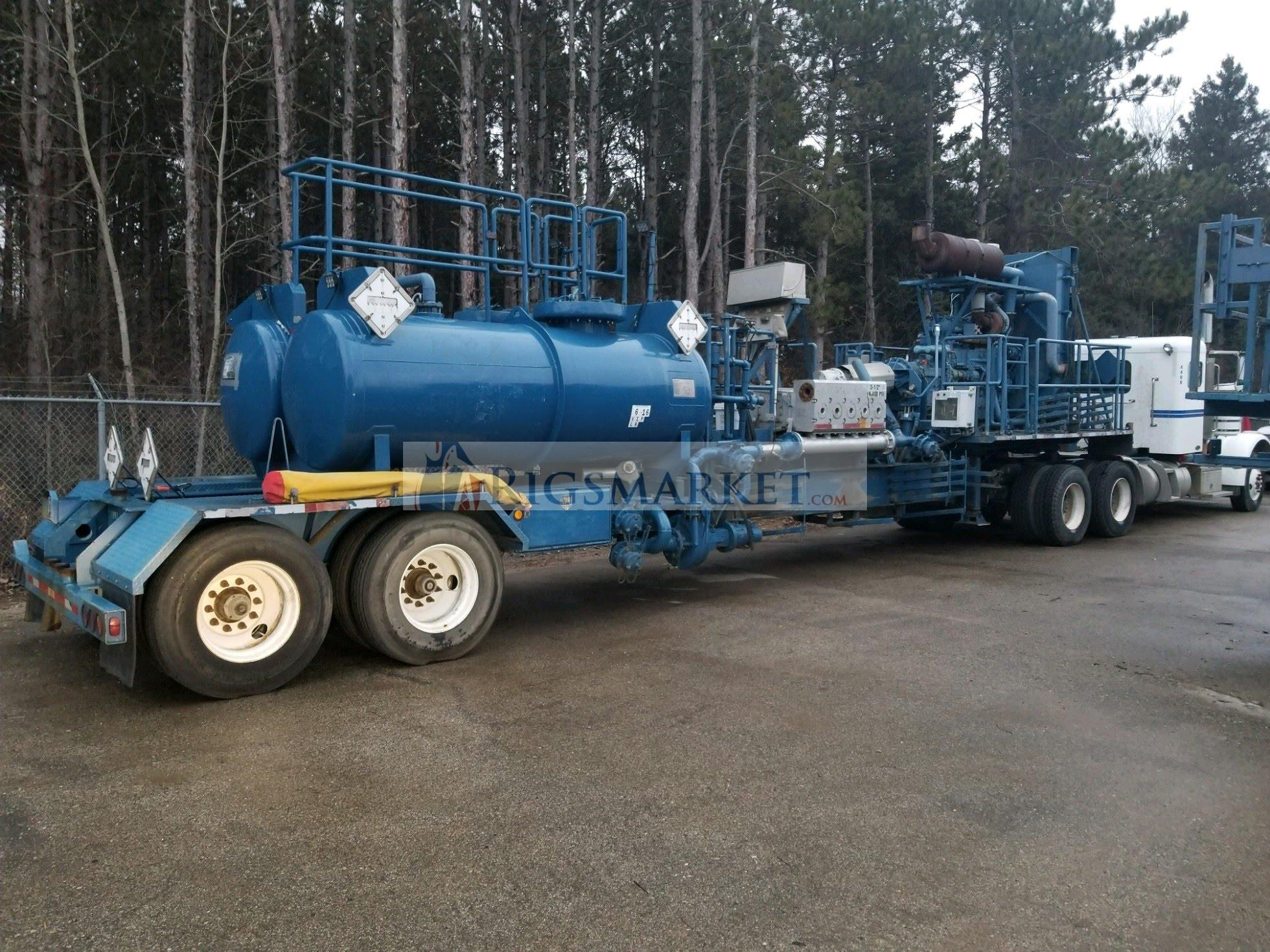 2008 NOV ROLLIGON QAT-800 Acid Frac Pump Trailer