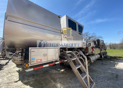 Twin cement pumpers for sale, Hydra rig Twin Cement Pumping Units.
