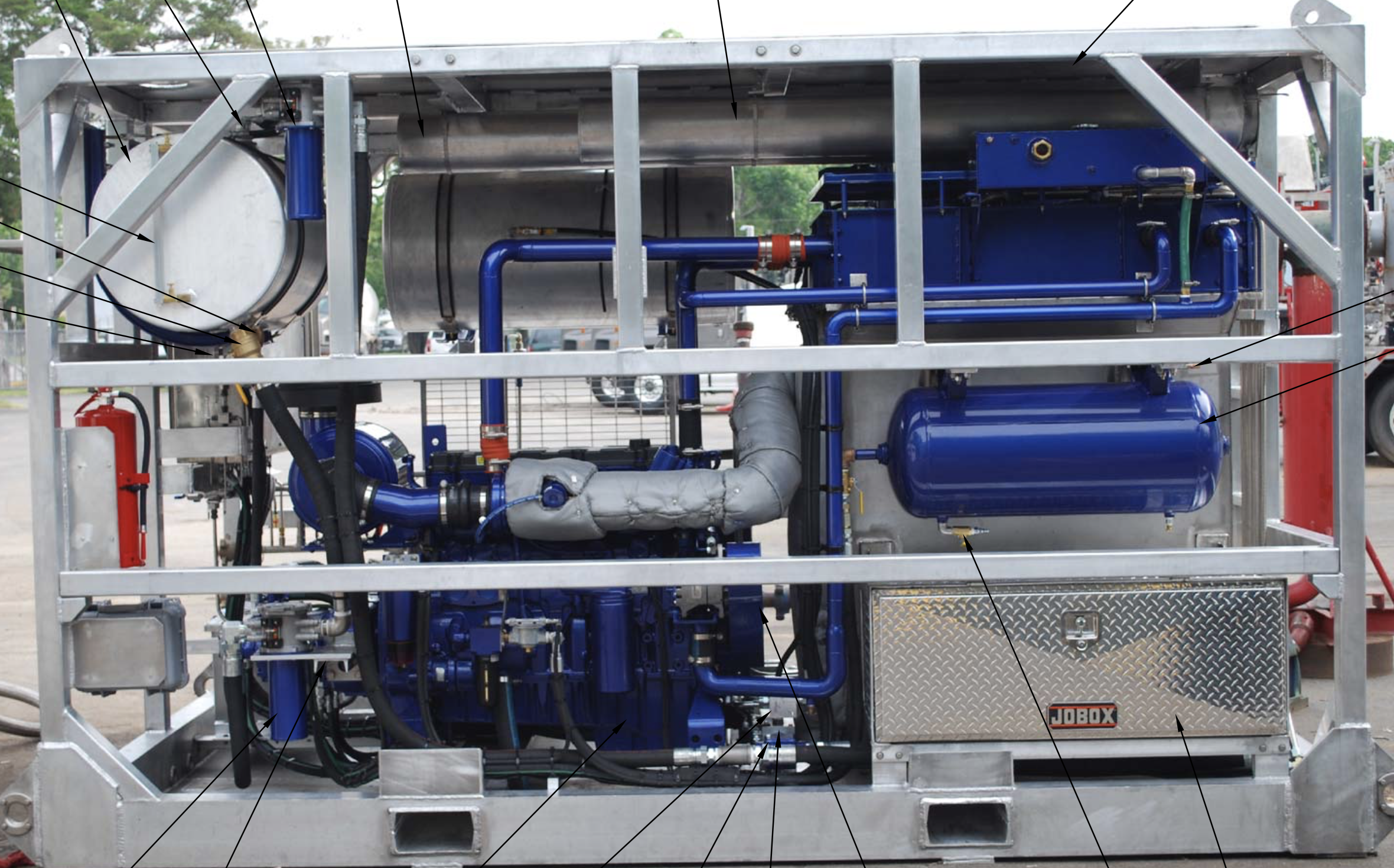 Nitrogen/Fluid Pumping Unit
