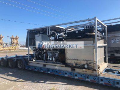 180k nitrogen pumping unit