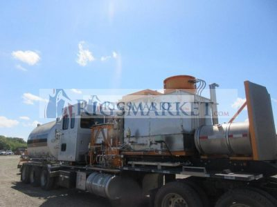 CS&P Nitrogen Pump Trailer ; VIN: 5ABK442037B070765; on Loadcraft Tri-Axle, Trailer, LCI-35T-C, CAT C13 ACERT Engine, (4) Fuel Tanks, Operators Cab, Nitrogen Tank, 2007, CS&P Triplex Pump,
