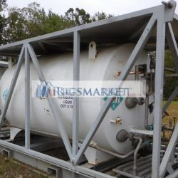 Various 3000 us gl  offshore skid LN2 tanks for sale.