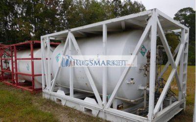 Various 3000 us gl offshore skid LN2 tanks for sale.