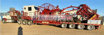 2012 HYDRA RIG COILED TUBING UNIT FOR SALE